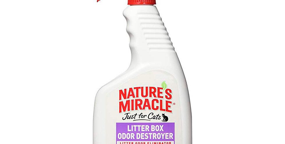 Eliminador de olores para arenero
