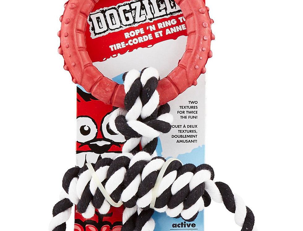 Juguete para perro Rope ´n Ring Tug Dogzilla®