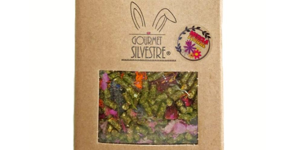 Heno de avena y alfalfa mezcla floral Gourmet Silvestre 650 gr