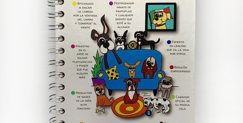 """Libreta """"Currículum de un perro"""" Kekitos-Mimos"""