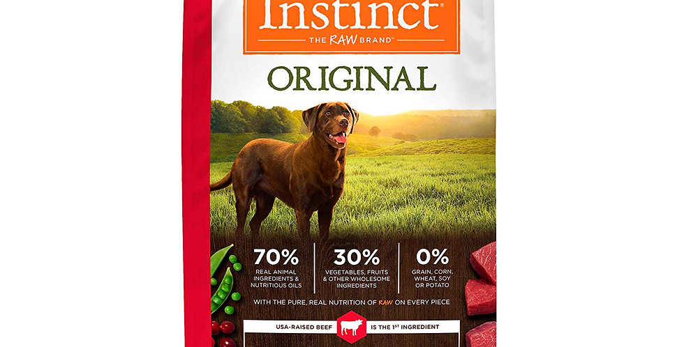 Instinct® Receta original sin granos con res