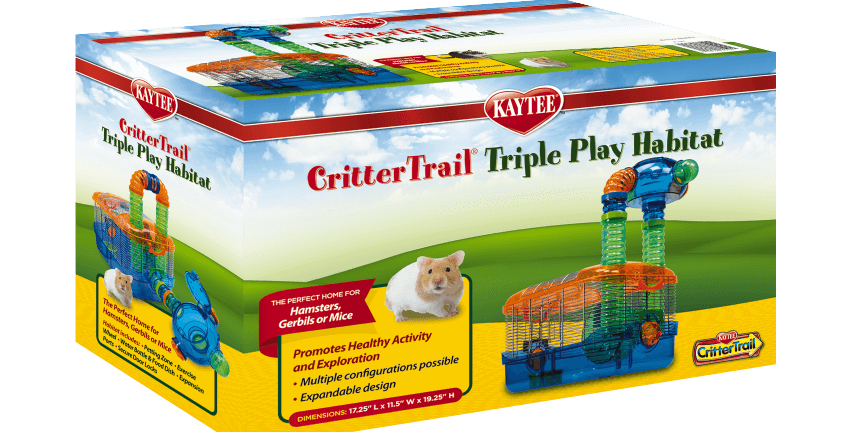 CritterTrail Triple Play Habitat by Kaytee®