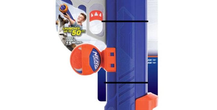 Nerf Dog Medium Tennis Ball Blaster