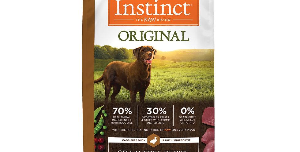 Instinct® Receta original sin granos con pato real