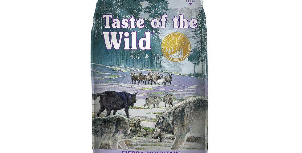 Taste Of The Wild - Sierra Mountain Cordero Asado