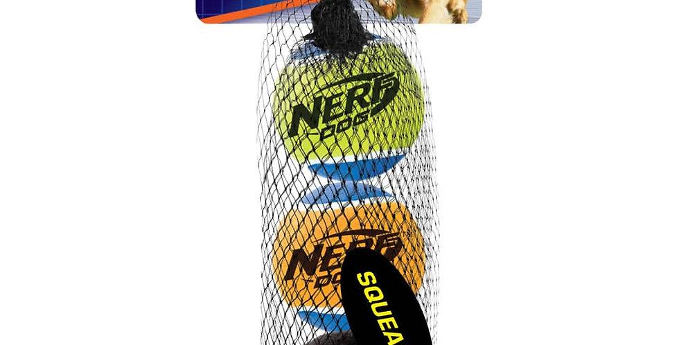 Paquete de 3 pelotas de tenis con sonido Nerf® Dog