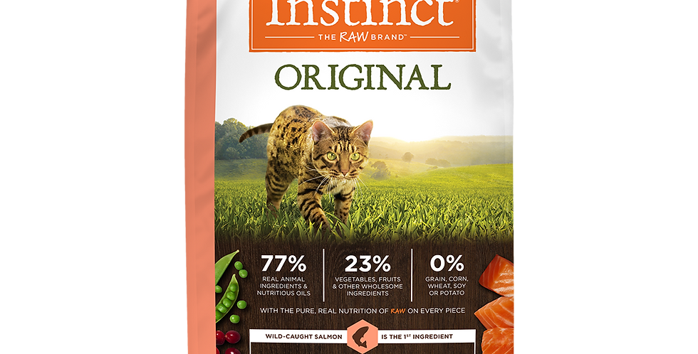 Instinct® Receta original sin granos con salmón real