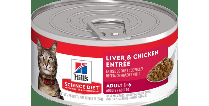 Hill's™ Science Diet™ Adult Liver & Chicken Entrée cat food