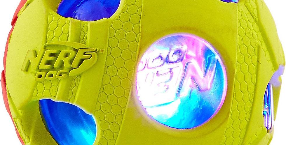 Pelota LED pequeña de 2 colores Nerf Dog