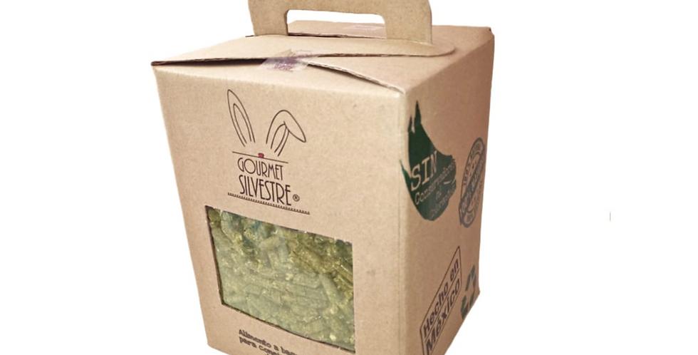 Heno peletizado de avena y alfalfa Gourmet Silvestre 3 kg