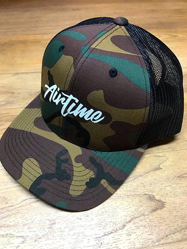 Script Trucker Hat - Camo