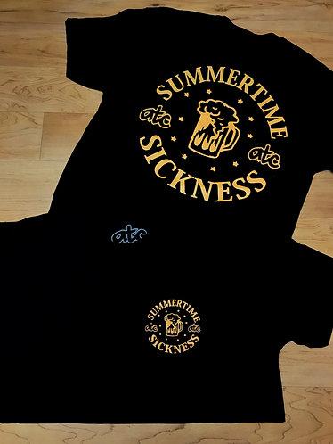 Summertime Sickness - Tshirt - Black/Khaki