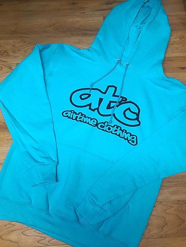 ATC Logo Hoodie - Turquoise