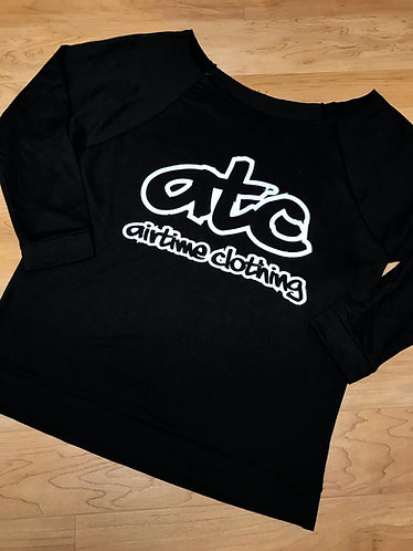 ATC Logo Scoop Shirt - Black