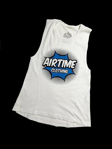 Airtime Surprise Sleeveless Tank - White