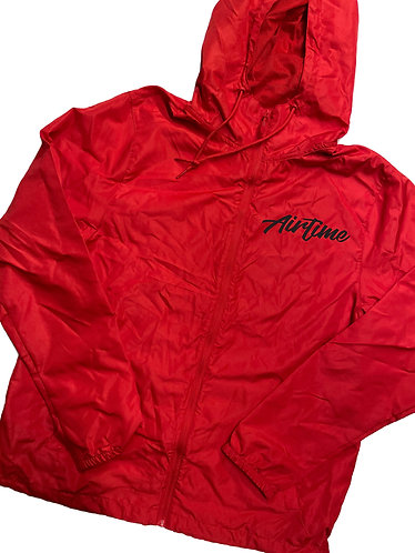 Script Windbreaker - Red