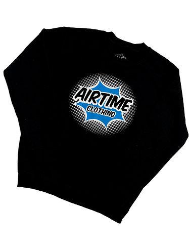 Airtime Surprise Crewneck Sweatshirt - Black