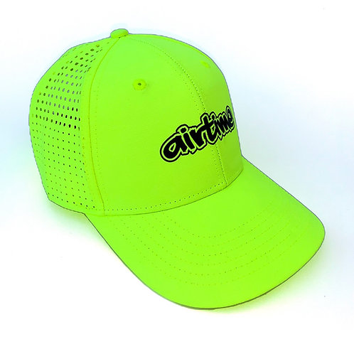 Big Air Athletic Dad Hat - Flo Yellow