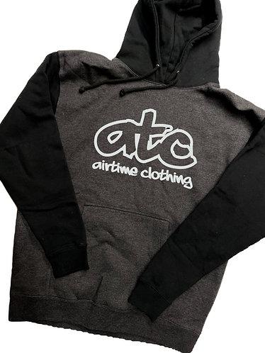 ATC Logo Hoodie - Charcoal/Blk