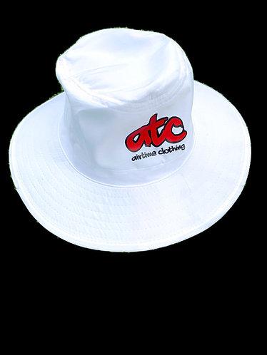 ATC Logo Sun Hat - White