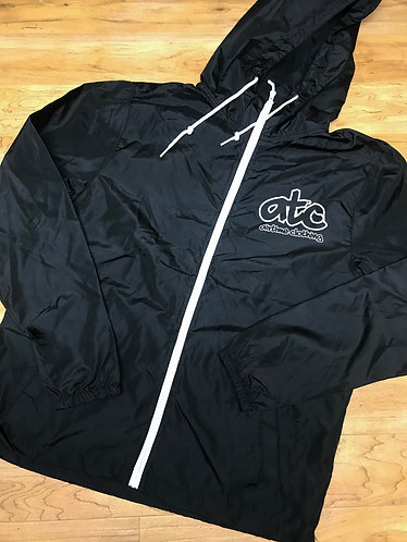 ATC Logo Windbreaker - Black/White