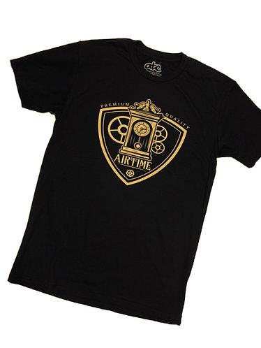 Clockwork T-shirt- Metallic Gold