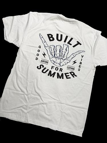 Built For Summer Tshirt - White