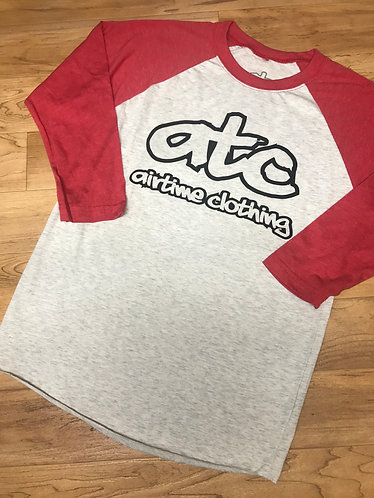 ATC Logo - 3/4 Sleeve - Red