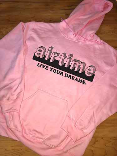 Live Your Dreams - Hoodie - Pink