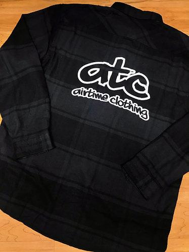 ATC Logo - Flannel - Blk/Grey