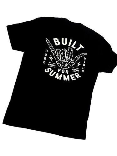 Built For Summer Tshirt - Black