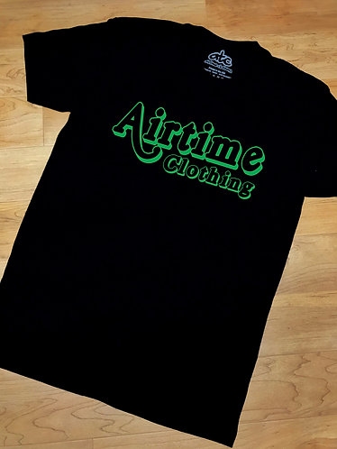 Heavy Hitters Tshirt - Black/Green