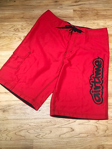 Big Air Boardshorts - Red/Black