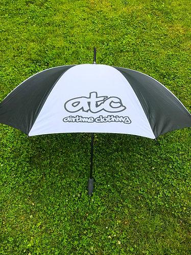ATC Logo Umbrella - Blk/Wht