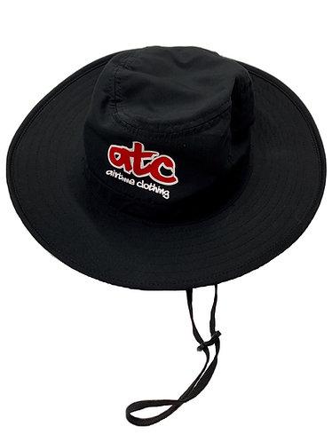 ATC Logo Sun Hat - Black