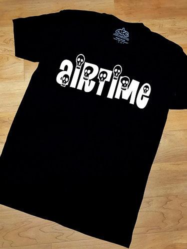SkullTime Tshirt - Black/White