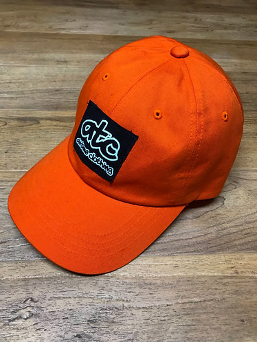 Patchy Dad Hat - Orange