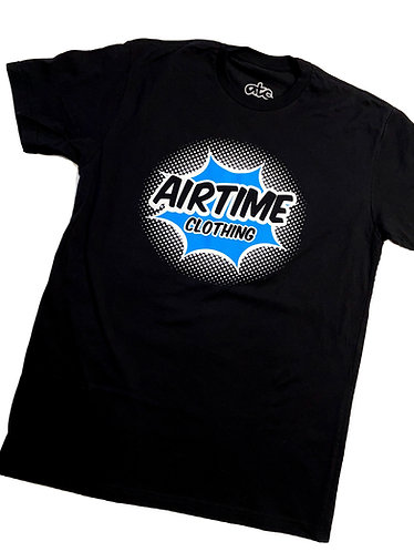 Airtime Surprise Tshirt - Black