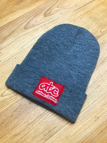 Patchy - Fold Up Beanie - Grey