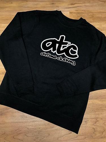 ATC Logo Crewneck - Black