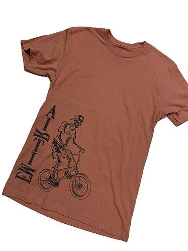 The Wheelie T-Shirt - Rust