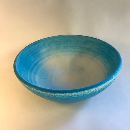 Turquiose Shallow Bowl