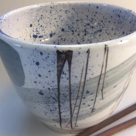 Deep vase grey
