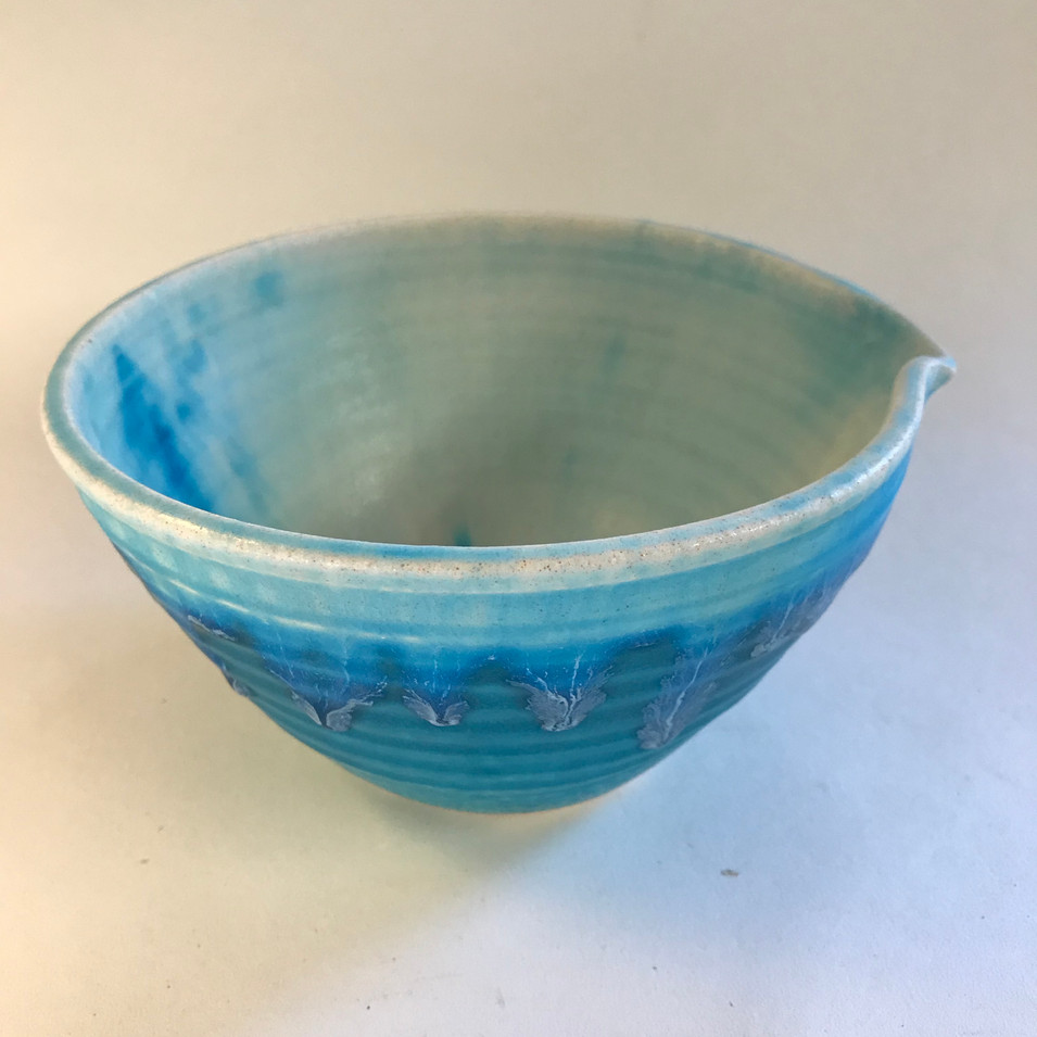 Turquoise Pouring Bowl (B001)