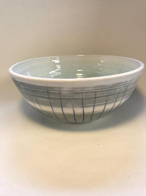 Large serving bowl