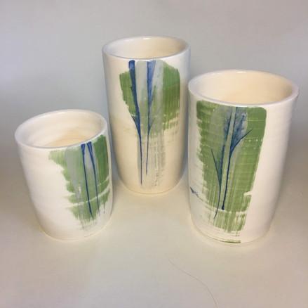 Cylinder vases individual or set