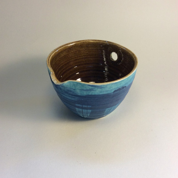 Rice serving bowl