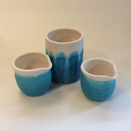 Creamer jugs £8.00 Smlall Cylinder £12.00