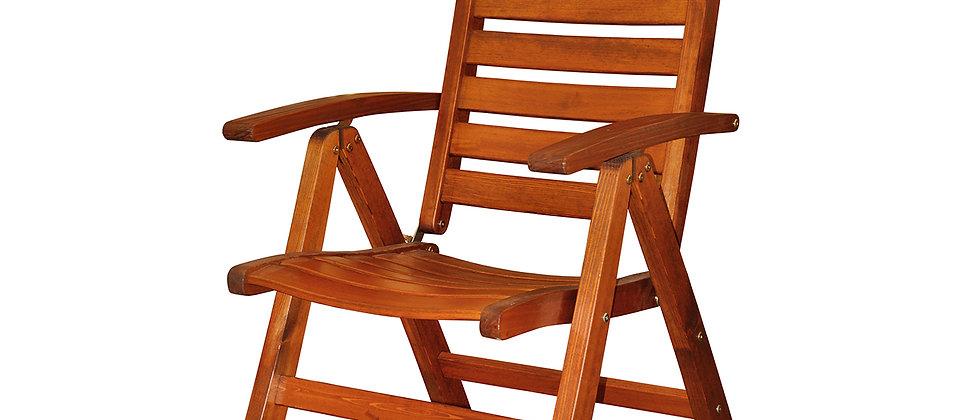 Кресло складное GRAND,                       7-положений спинки