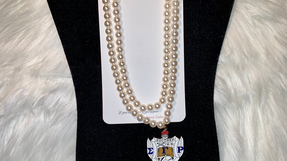 Sgrho two strand pearl set